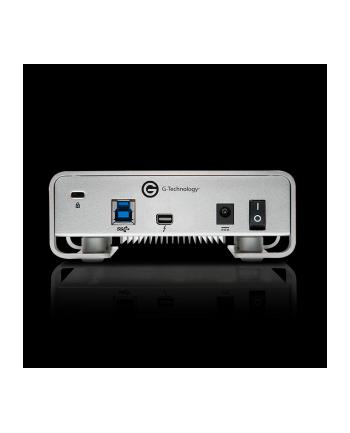g-technology Dysk zewnętrzny G-DRIVE Thunderbolt, 3.5'', 10TB, USB 3.0, srebrny