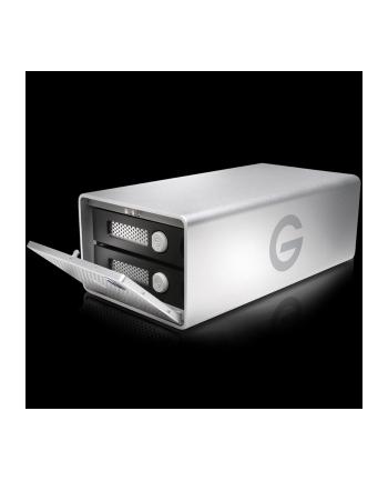 g-technology Dysk zewnętrzny G-RAID Removable Thunderbolt 3, 3.5'', 8TB, USB 3.1, srebrny
