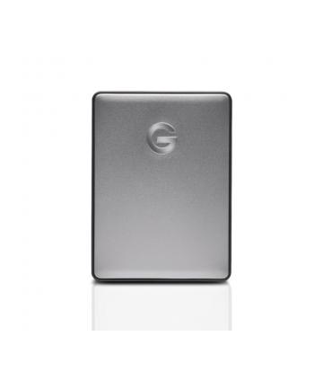 g-technology Dysk zewnętrzny G-DRIVE mobile USB-C, 2.5'', 4TB, USB 3.1, srebrny