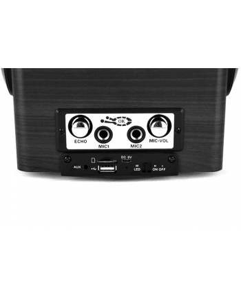 media-tech BOOMBOX PRO BT - portable bluetooth active speaker with karaoke feature