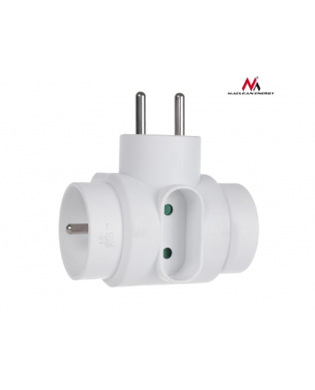 Maclean MCE213 Gniazdko prądowe potrójne typu mix 2x16A z uziemieniem, 1x6A