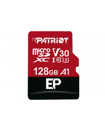 Patriot EP Series 128GB MICRO SDXC V30, up to 100MB/s