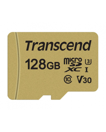 Transcend karta pamięci Micro SDXC 128GB Class 10 ( 95MB/s ) + adapter