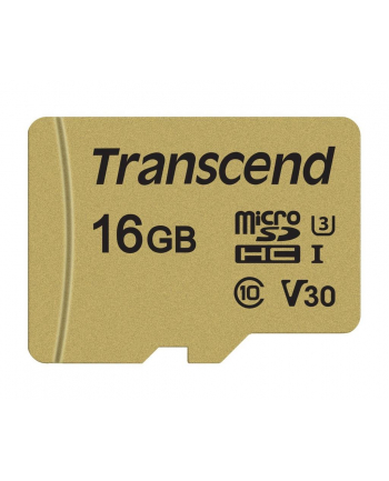 Transcend karta pamięci Micro SDHC 16GB Class 10 ( 95MB/s ) + adapter