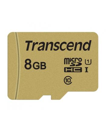 Transcend karta pamięci Micro SDHC 8GB Class 10 ( 95MB/s ) + adapter