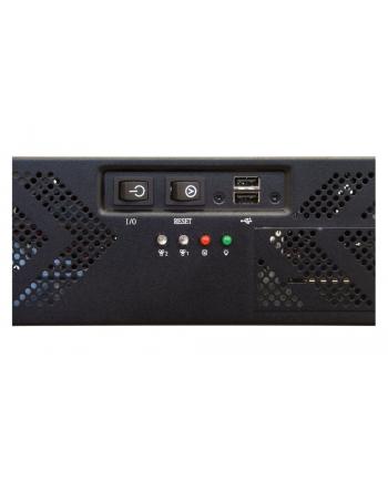 Chieftec obudowa IPC serii 2U - UNC-210T-B, 400W PSU (PSF-400A)
