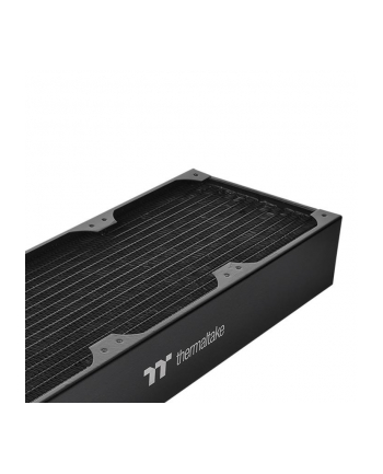 thermaltake Radiator Pacific CL360 (360mm, 5x G 1/4, miedź) czarny
