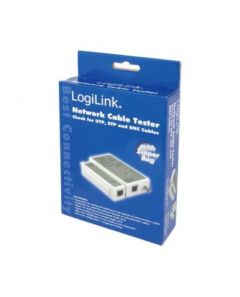 logilink Tester kabli RJ45 i BNC z jednostką zdalną