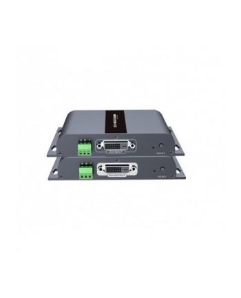 techly Extender DVI HDbitT po skrętce Cat5e/6 do 120m FullHD 1080p