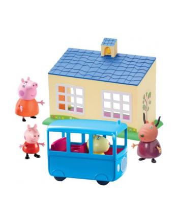 tm toys Świnka Peppa Zestaw szkoła + autobus 06593