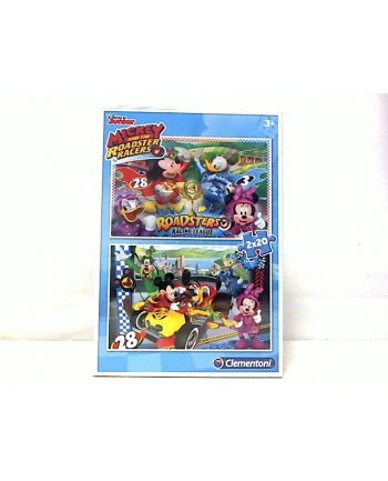 clementoni CLE puzzle 2X20 Mickey and the Roadster 07034