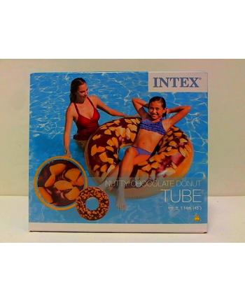 intex Koło do pływania Donut czekolada SP56262