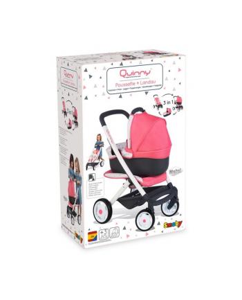 SMOBY Maxi Cosi wózek 3w1 253198