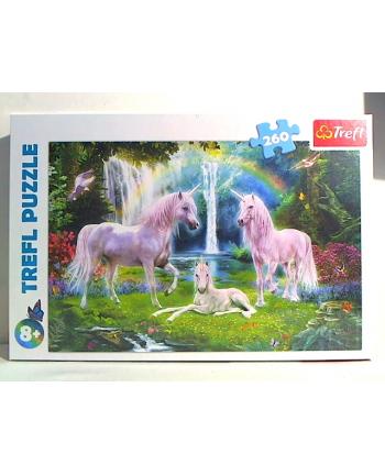 trefl Puzzle 260 JEDNOROŻEC 13240