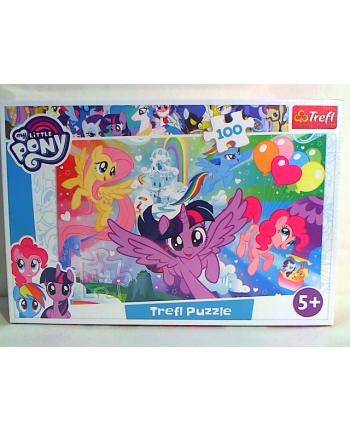 trefl Puzzle 100 TĘCZOWA KRAINA 16343