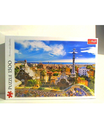 trefl Puzzle 1500 PARK GUELL BARCELONA 26147