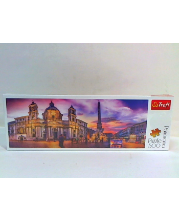 trefl Puzzle 500 Panorama Piazza Navona Rzym 29501