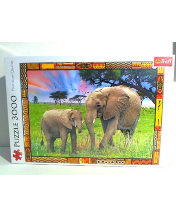 trefl Puzzle 3000 SAWANNA 33067
