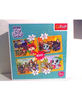 trefl Puzzle 4W1 MIŁE WSPOMNIENIA 34295