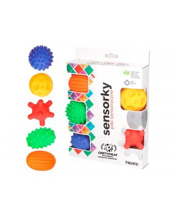 hencz Piłeczki sensoryczne 5 szt w pudełku 875