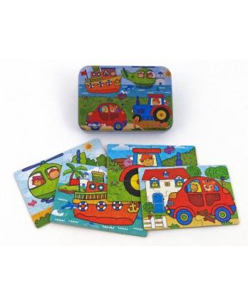 adar Układanka puzzle pojazdy metal box 474857