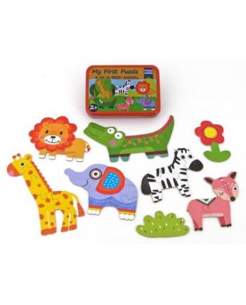 adar Układanka puzzle zwierzęta metal box 474918