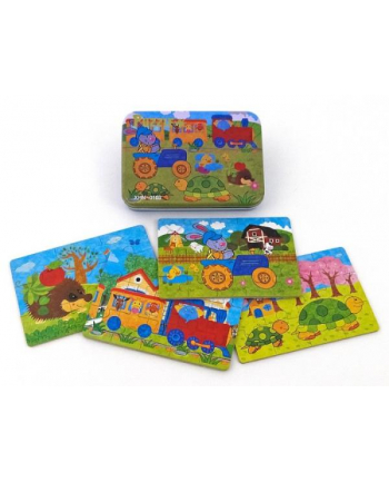 adar Układanka puzzle metal box 474871