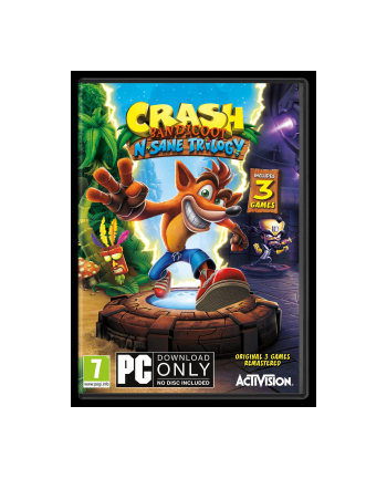 cenega Gra PC Crash Bandicoot N Sane Trilogy