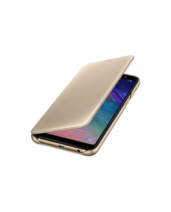 samsung Etui Wallet Cover A6+ złote