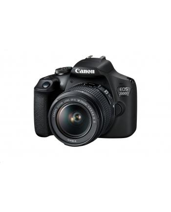 Lustrzanka Canon EOS 2000D BK 18-55 IS + LP-E10 EU26 2728C010 ( Polska dysttrybucja !)