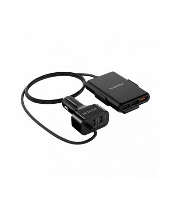 Ładowarka samochodowa 1 x USB-QC 4xUSB 2.4A 52W