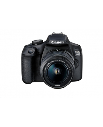 canon *EOS 2000D BK 18-55 IS + 75-300 EU26 2728C017