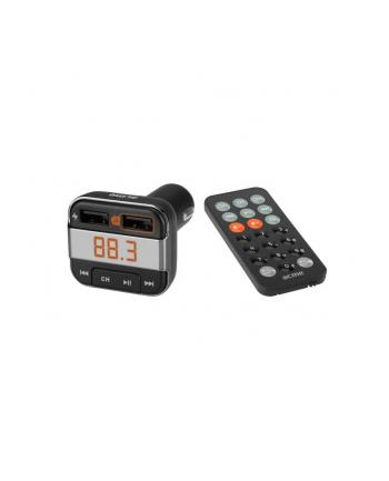 Transmiter FM z Bluetooth i ładowarką USB F330