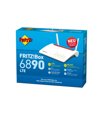 AVM Fritz! Box LTE WLAN AC 6890 2,4GHz & 5GHz 20002817