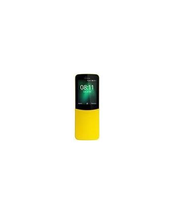 NOKIA | 8110 4G | 4 GB | Yellow | 3G | LTE | Screen  2.4'' | 240 x 320 | TFT-LCD | Dual SIM | 1xHeadphones jack | 1xMicro-SIM card tray | 1xNano-SIM card tray | Camera 2MP | Battery 1500 mAh | 8110YELLOWDS