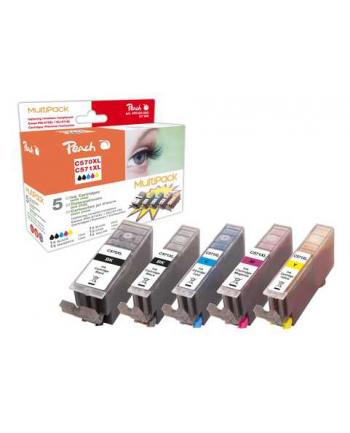 Tusz PEACH PI100-293 Canon PGI-570XL/CLI-571XL MultiPack | bk, pbk, c, m, y