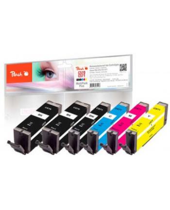 Tusz PEACH Canon PGI-570/CLI-571, REM, Multi-Plus, PI100-337 6x Tusz: 2x bk,1x p