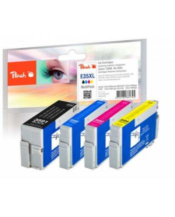 Tusz PEACH Epson No. 35XL, Multi-Pack, PI200-367 4x Tusz: 1x bk,c,m,y, (UK=25)