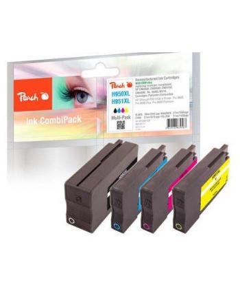 Tusz PEACH PI300-538 HP No 950XL/951XL MultiPack | bk, c, m, y
