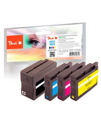 Tusz PEACH PI300-708 HP No 932/933 MultiPack | bk, c, m, y