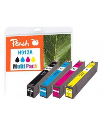 Tusz PEACH PI300-744 HP No 913A MultiPack | bk, c, m, y