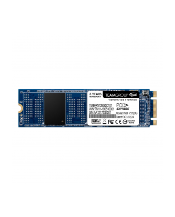 Team Group Dysk SSD MP32 128GB M.2 PCIe Gen3 x2 NVMe, 1350/400 MB/s