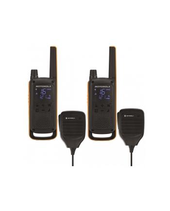 Motorola T82 Extreme RSM Krótkofalówka, (Walkie-Talkie), 10 km, Czarny