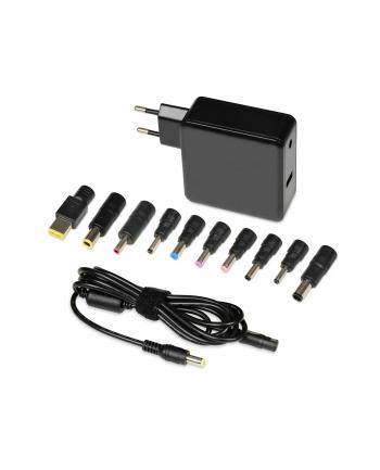 ibox UNIWERSALNY ZASILACZ DO NOTEBOOKA I-BOX IUZ65WA 65W AUTOMATIC