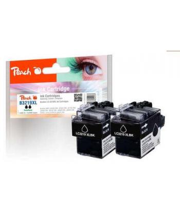Tusz PEACH Brother LC-3219XL, bk, Twin-Pack, PI500-241 2 Tusz cartridges 2x (UK=