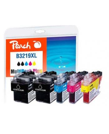 Tusz PEACH Brother LC-3219XL, Multi-Pack-Plus, PI500-246 5x Tuszs: 2x bk, 1x c,m