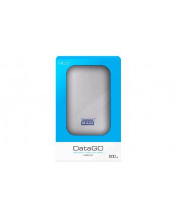 Dysk zewnętrzny GOODRAM DATAGO 2.5'' 500GB USB 3.0, Biały