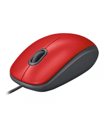 Logitech® Mysz M110 Silent Czerwona - EMEA