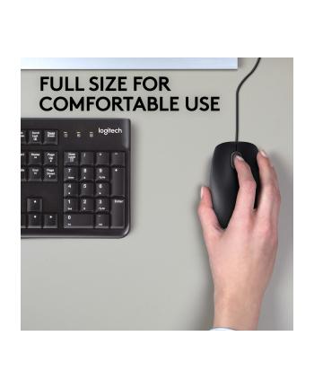 Logitech® Mysz B110 Silent Czarna - EMEA - USB