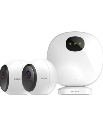 D-Link mydlink Pro Wire-Free Camera Kit (2x DCS-2800LH + 1x H100 )